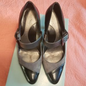 Gianni Bini Black and Gray Heels